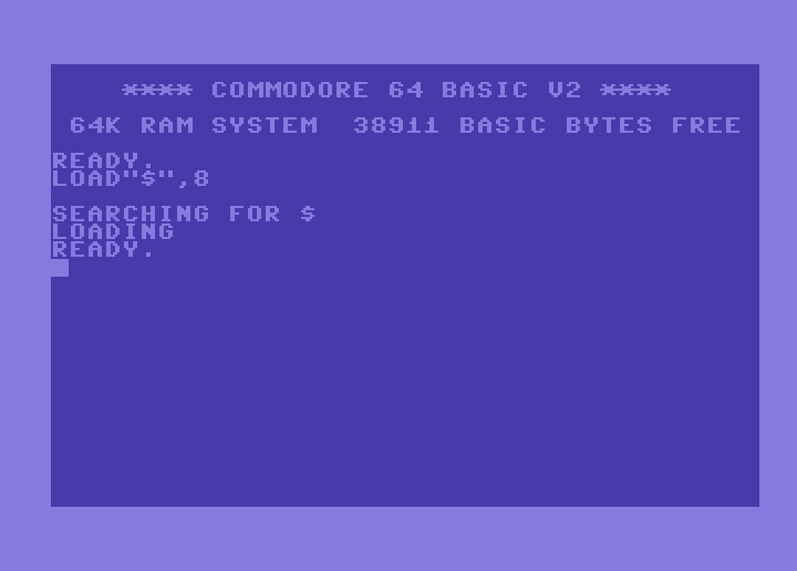 carga disco c64 - imagen 2