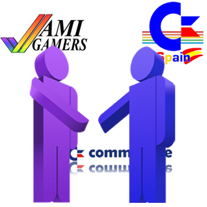 Amigamers and Commodore Spain