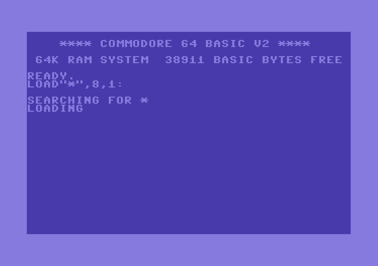 carga disco c64 - imagen 1